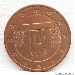 Malte - 2008 - 2 cents
