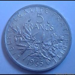 5 francs 1965