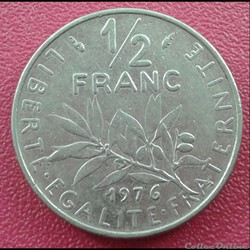 50 centimes 1976