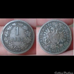 Autriche - 1 heller 1885