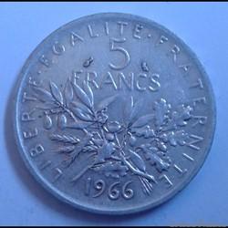 5 francs 1966