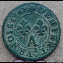1649 A - denier de france