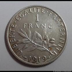1 franc 1919