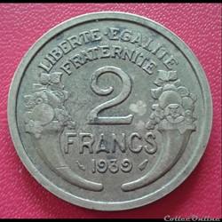 2 francs 1939