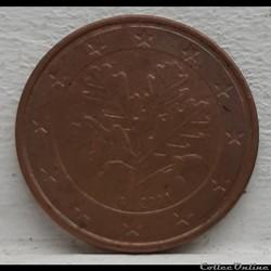 Allemagne - 2004 - G - 5 cents