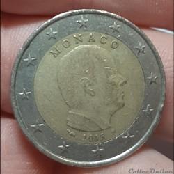 Monaco - 2015 - 2 euros