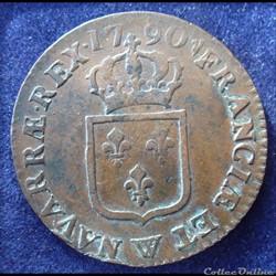 1790 W - Sol à l'écu