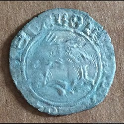 Charles VIII - Liard au dauphin