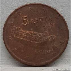 Grece - 2006 - 5 cents