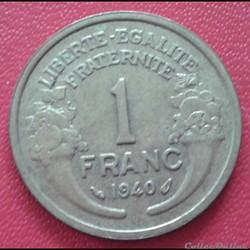 1 franc 1940