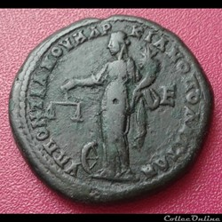 monnaie antique romaine macrin et diadumenien pentassaria