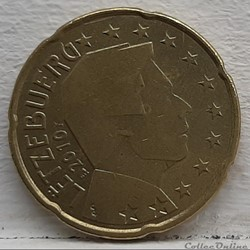 Luxembourg - 2010 - 20 cents