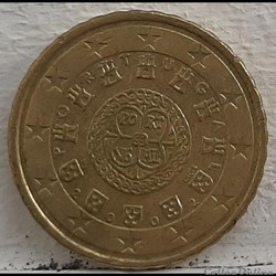 Portugal - 2002 - 10 cents