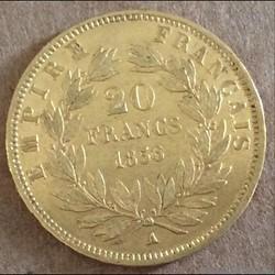 20 francs 1856 A