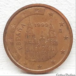Espagne - 1999 - 2 cents