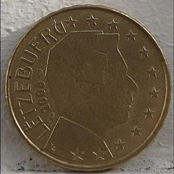 Luxembourg - 2008 - 10 cents