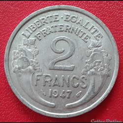 2 francs 1947