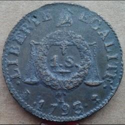 1793 T -1 sol aux balances