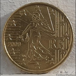 France - 2009 - 10 cents