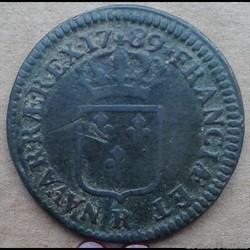 1789 R - Sol à l'écu