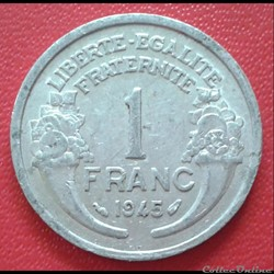 1 franc 1945