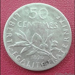50 centimes 1898