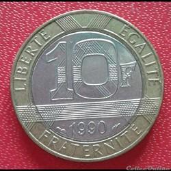 10 francs génie 1990