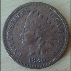 USA - 1 cent 1880