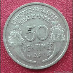 50 centimes 1947