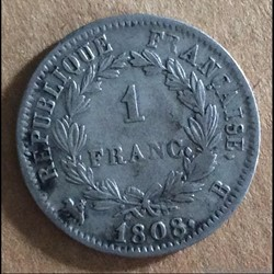 Napoléon - 1 Francs 1808