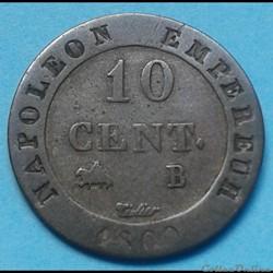Napoléon Ier - 10 centimes 1809