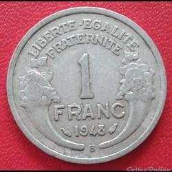 1 franc 1948 B