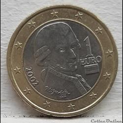 Autriche - 2002 - 1 euro