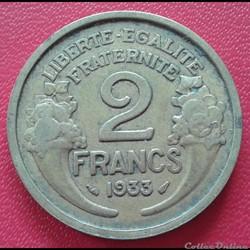 2 francs 1933
