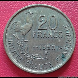 20 francs 1953 B