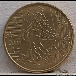 France - 2008 - 10 cents