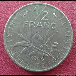 50 centimes 1966