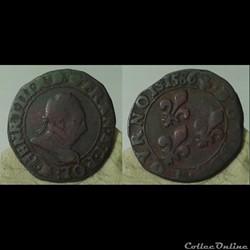 Henri III - double tournois 1586