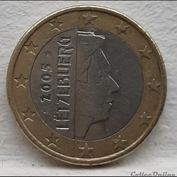 Luxembourg - 2005 - 1 euro