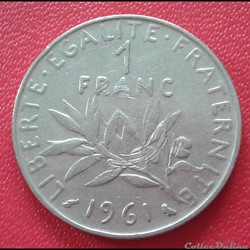 1 franc 1961