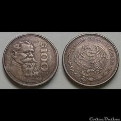 Mexique - 100 pesos 1984