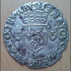 Henri II - Douzain aux croissants 1551