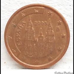 Espagne - 2003 - 1 cent