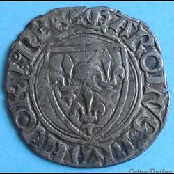 Charles VI - Blanc dit de guenar - Étoil...