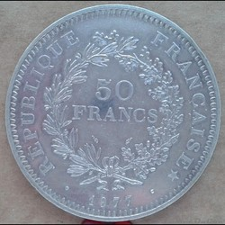 50 francs 1977