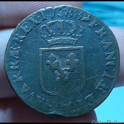 1788 MA - Sol à l'écu