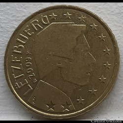 Luxembourg - 2009 - 50 cents