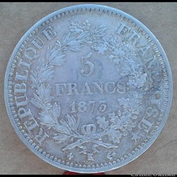 5 francs 1873 K
