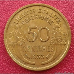 50 centimes 1933 (a)