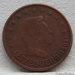 Luxembourg - 2002 - 5 cents